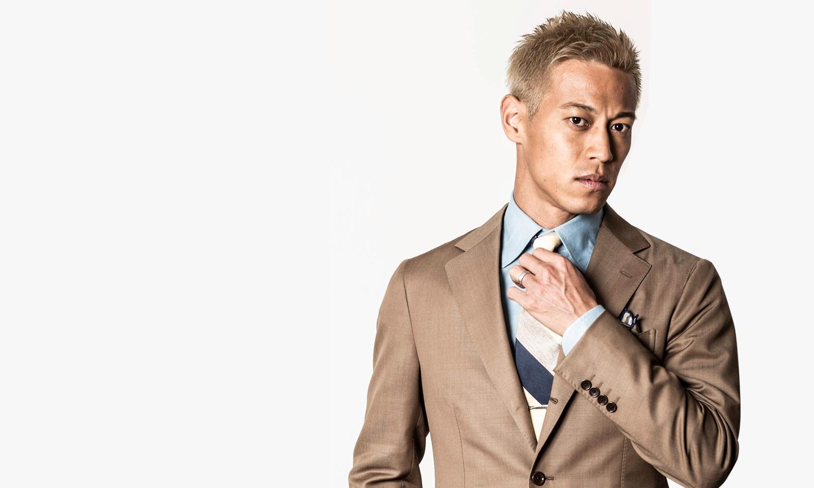 本田圭佑氏がビジネス界におけるプロ契約サービス・キャリーミーのアンバサダーに就任!